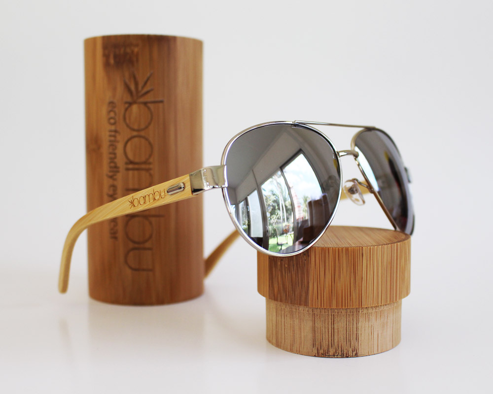 Mav - Eco friendly bamboo polarized sunglasses - bambuglasses.com